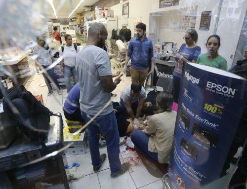 Assalto a papelaria na Tijuca deixa uma cliente morta e um funcionário baleado no tórax